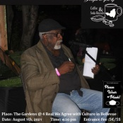 """Tribute to poet """"Big Ray"""" Helligar """"under the mango trees"""" on August 7"""