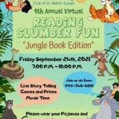 Rotary Sunset to Host Virtual Reading Slumber Fun