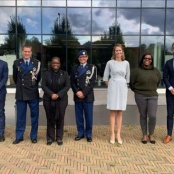 Royal Netherlands Marechaussee welcomes Minister Richardson to Knowledge Center