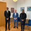 Minister Richardson pays a visit to Dutch State Secretary Knops