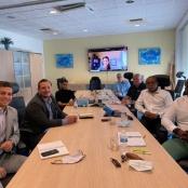 Port St. Maarten and RCG Officials reaffirms potential strategic initiatives