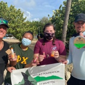Nature Foundation Partners with Community Members to Host First In-No-Plastic Beach Clean-ups