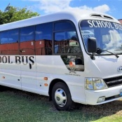 Statia's School Transportation improved with introduction new school buses